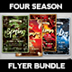 Four Seasons Flyer Bundle - GraphicRiver Item for Sale