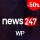 News247 - News Magazine WordPress Theme