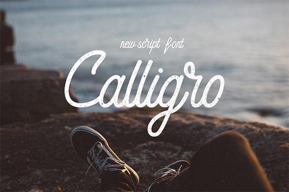 Monoline Script - Calligro - Calligraphy Script