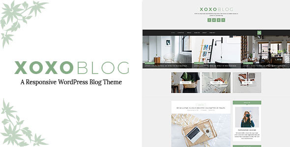 ThemeForest XOXO Simple & Clean WordPress Blog Theme 20618030