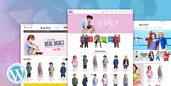 HappyChild - Multi Store Responsive Wordpress Theme - WooCommerce eCommerce