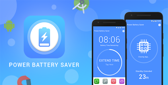 Battery Saver Android App + Admob - CodeCanyon Item for Sale