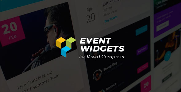 CodeCanyon Event Widgets for Visual Composer Wordpress Plugin 20689882