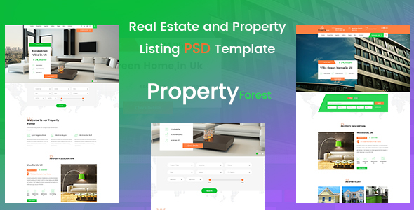ThemeForest Real Estate and Property Listing Template 20585175