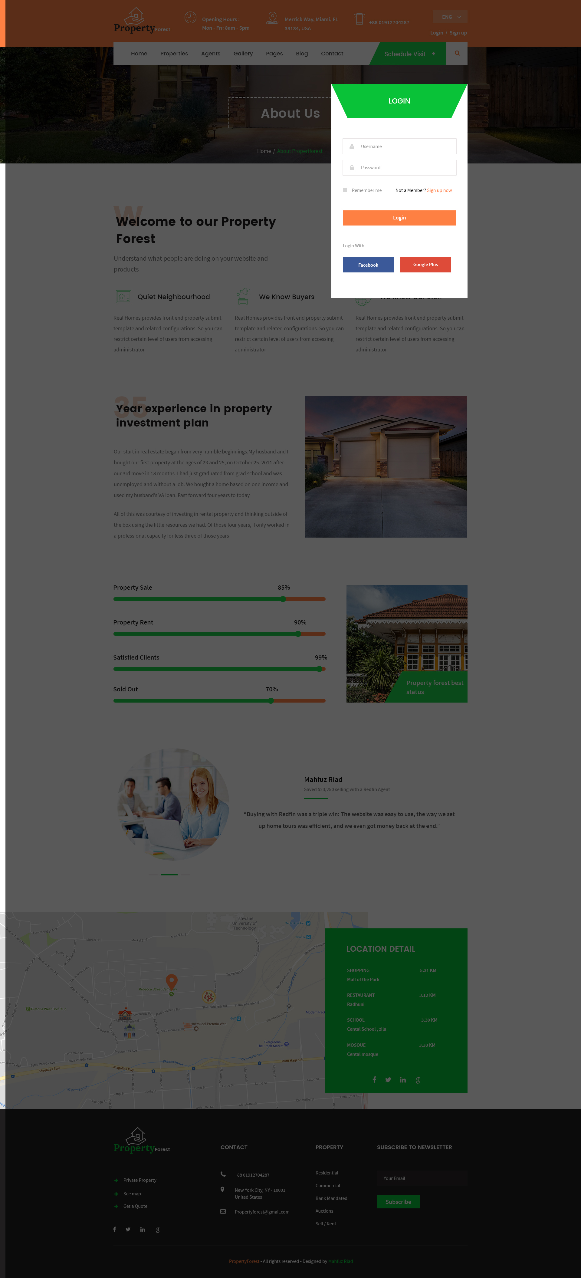 Real Estate and Property Listing Template by template_mr | ThemeForest