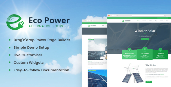 EcoPower - Alternative Power & Solar Energy Company