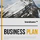 Business Plan A4 / US Letter - GraphicRiver Item for Sale