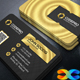 Gold Business Card - GraphicRiver Item for Sale
