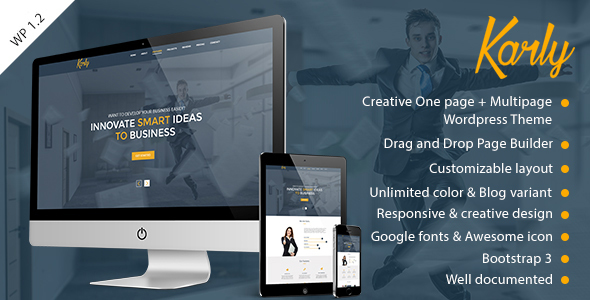 Karly - Creative WordPress Theme - Creative WordPress