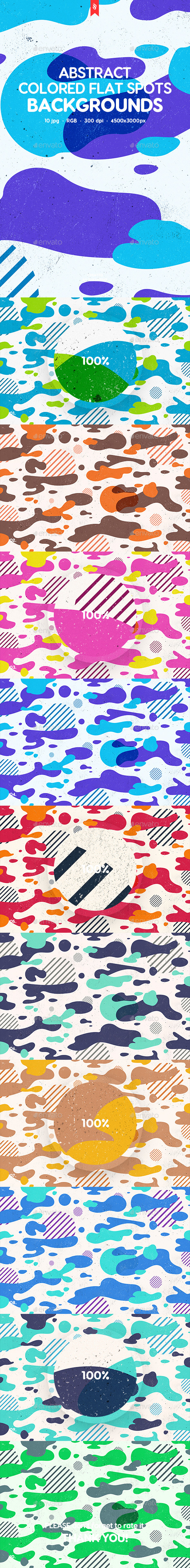 Abstract Spots Backgrounds - Abstract Backgrounds