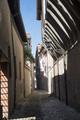 Forli (Italy): via Gaddi, old alley