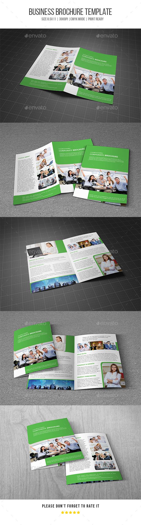 GraphicRiver Bifold Business Brochure V01 20690416