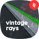 Dirty and Vintage Flat Rays Backgrounds
