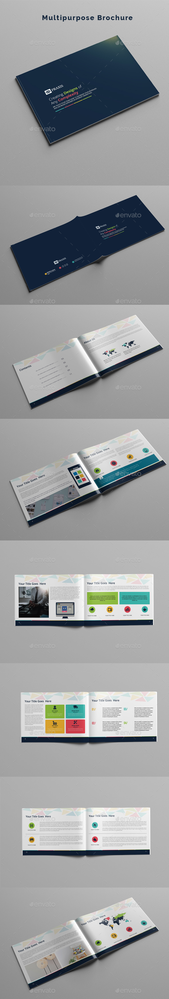 Multipurpose Brochure - Corporate Brochures
