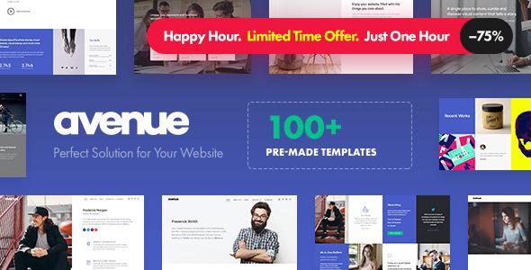 Avenue - Creative Multi-Purpose WordPress Theme