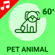 Pet Animal Dog Veterinary Animation - Line Icons and Elements - VideoHive Item for Sale