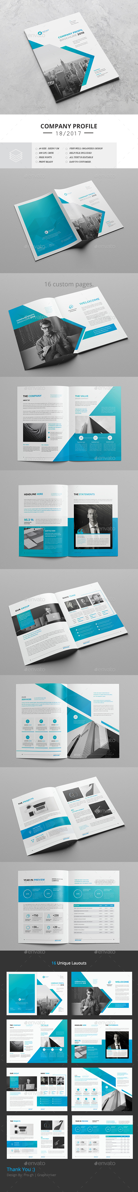 Company Profile 2018 - Corporate Brochures