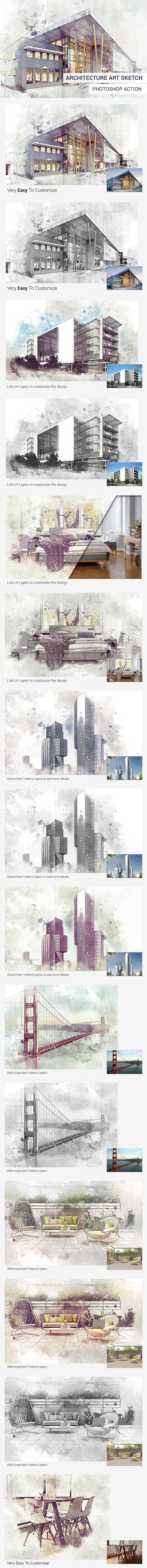 GraphicRiver Architecture Art Sketch 20691234