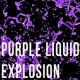 Purple Liquid Drop Explosion - VideoHive Item for Sale