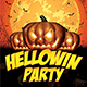 Hellowin Party Template