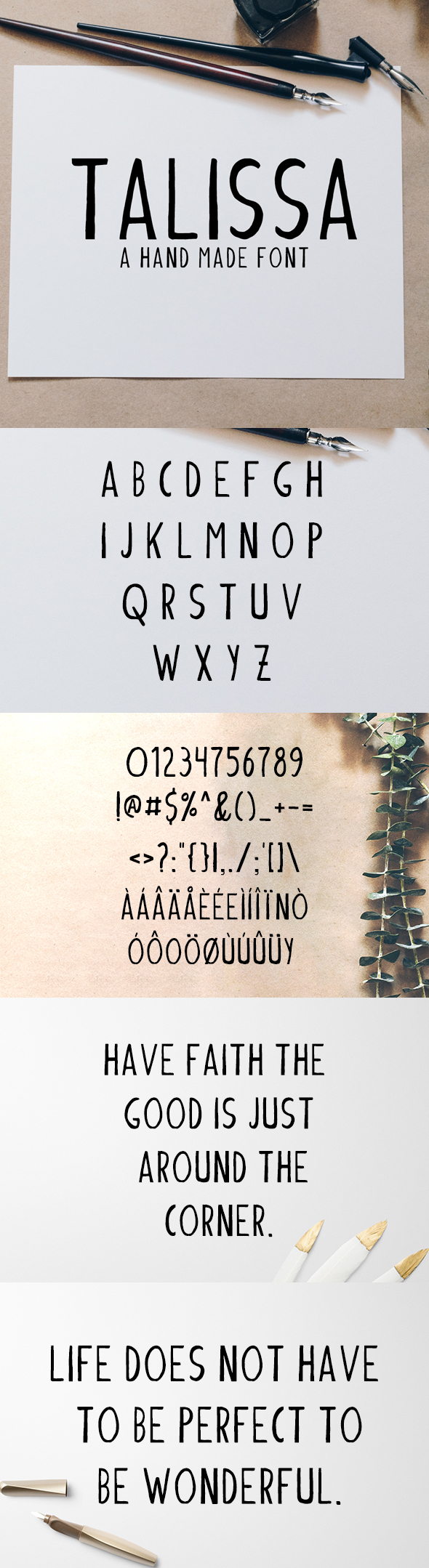 GraphicRiver Talissa A Handmade Font 20691307