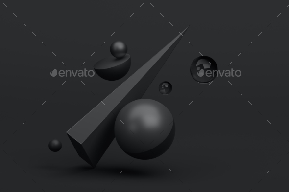 GraphicRiver Abstract 3D Rendering of Geometric Shapes 20691379