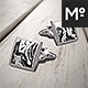 Cufflinks Mock-up Mock-up