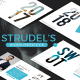 Strudel's  Modern Google Slide Template - GraphicRiver Item for Sale