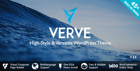 Verve - High-Style WordPress Theme - Miscellaneous WordPress