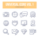 Universal Doodle Icons vol.1 - GraphicRiver Item for Sale