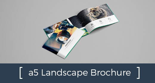 All a5 Landscape Brochure