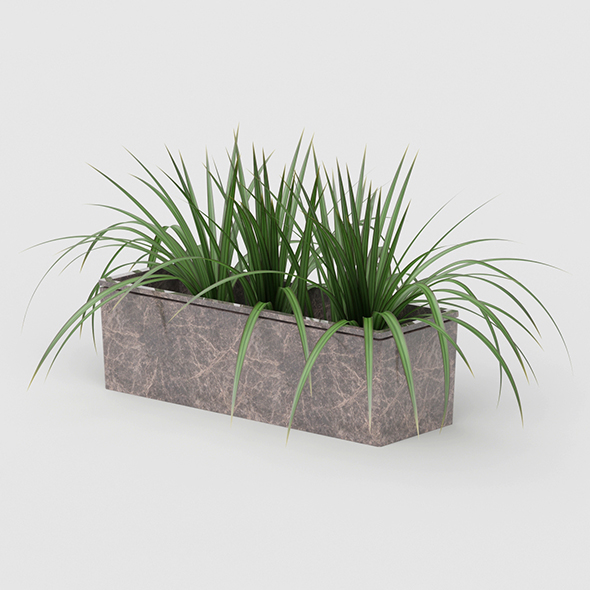 3DOcean Vray Ready Potted Plant 20692265