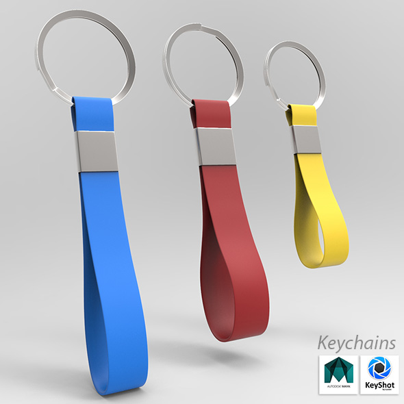 Keychain - 3DOcean Item for Sale