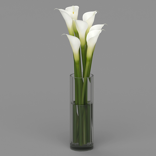 3DOcean Vray Ready Flower Pot 20692339