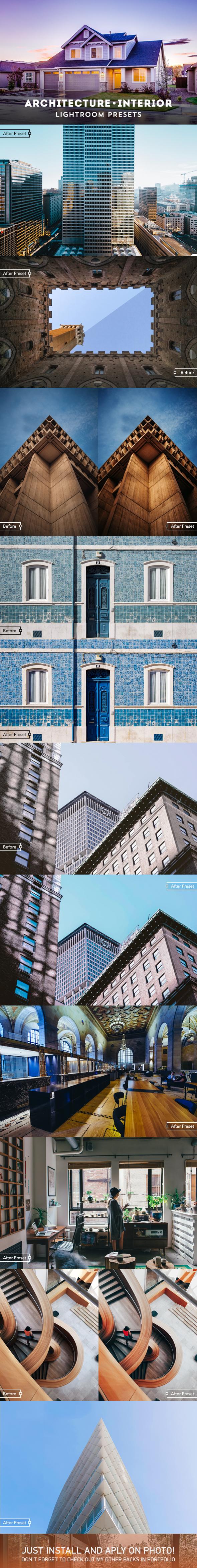 Architecture & Interior Lightroom Presets - Lightroom Presets Add-ons