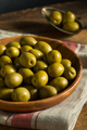 Organic Greek Green Olives