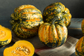 Raw Orange Conffeti Acorn Squash