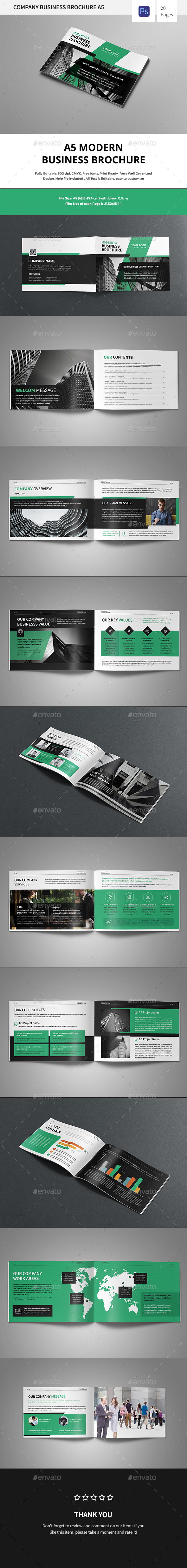 GraphicRiver A5 Corporate Bausiness Brochure 20692947