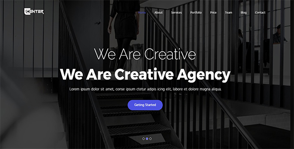 ThemeForest Center One Page Parallax 20692963