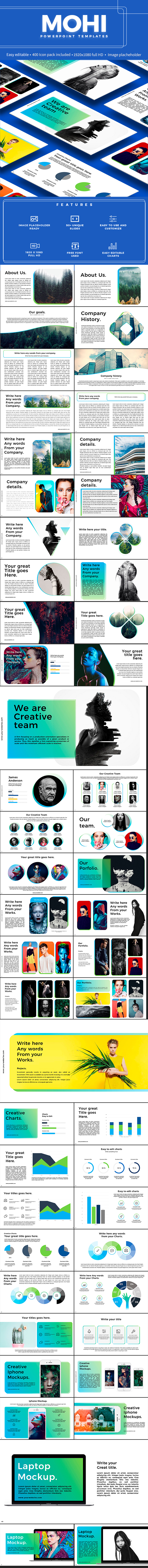 Mohi Powerpoint Tempate - PowerPoint Templates Presentation Templates