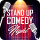 Stand Up Comedy Night Flyer