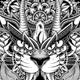 Tiger Mandala - GraphicRiver Item for Sale