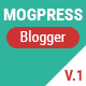 Mogtemplates - MogPress Template For Blogger