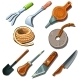 Tools for Gardener, Carpenter and Repairman