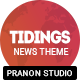 Tidings - WordPress Magazine Theme - ThemeForest Item for Sale