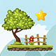Cartoon Platformer Tileset - GraphicRiver Item for Sale