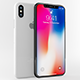 Apple iphone X White & Gray