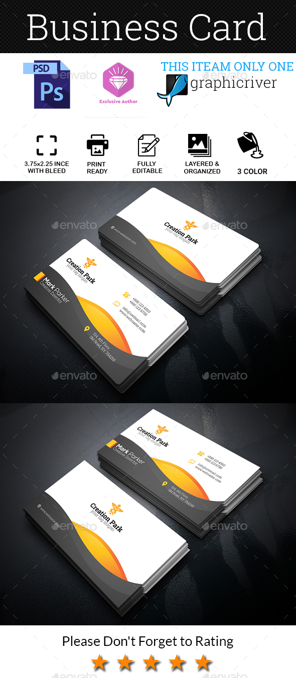 GraphicRiver Business Card 20693542