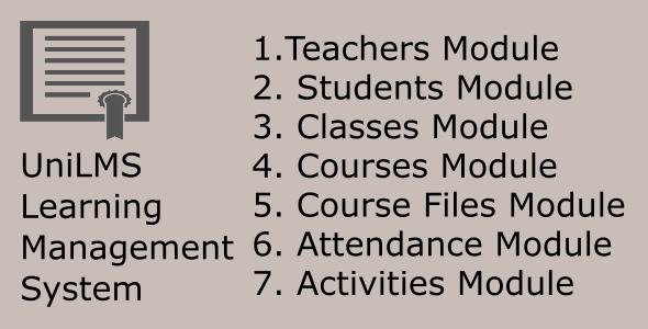 Download UniLMS Learning Management System