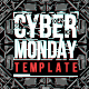 Cyber Monday Templates with Futuristic Background - GraphicRiver Item for Sale